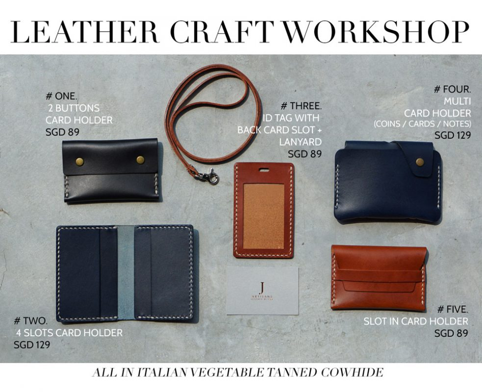 Leathercraft workshop