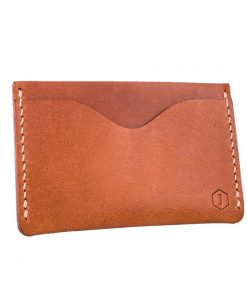 3slot tan brown cardholder