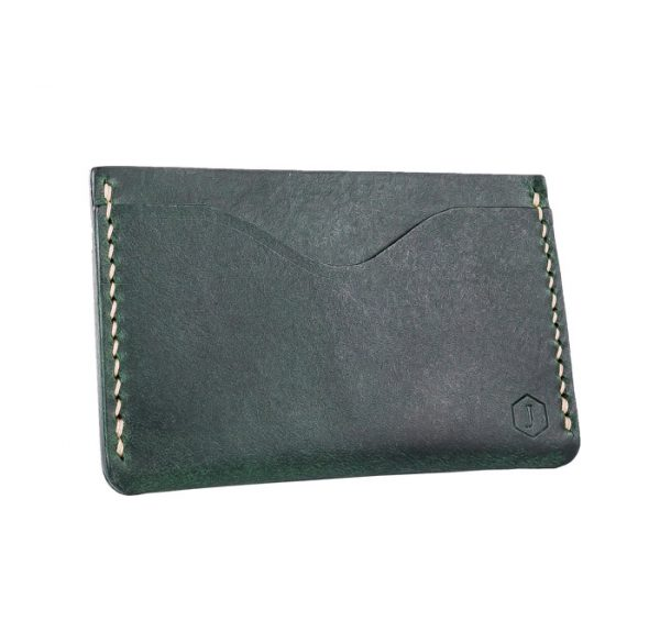 3 slots green card holder