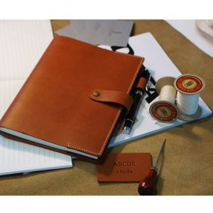 A5 leather book