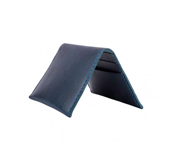 6 slots card holder (navy)