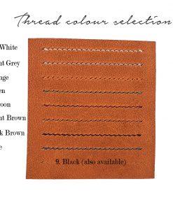 6 slots card holder (brown)