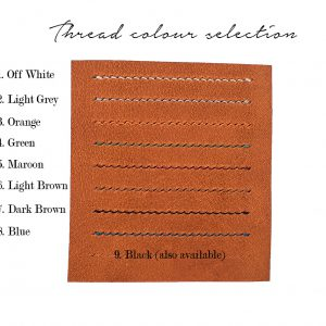 6 slots card holder (brown)