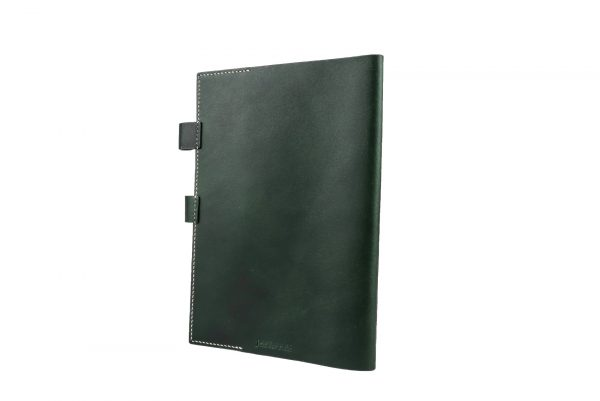 Leather Notebook (forest green)