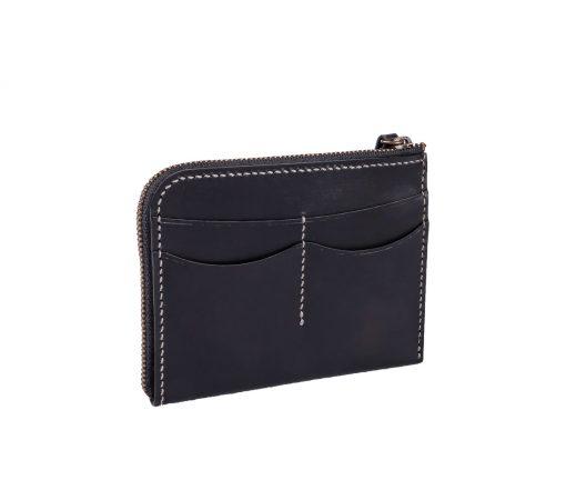 Zip wallet (black)